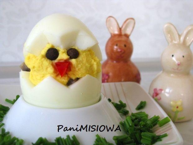 Kurczak z niespodzianką (faszerowane jajka)
