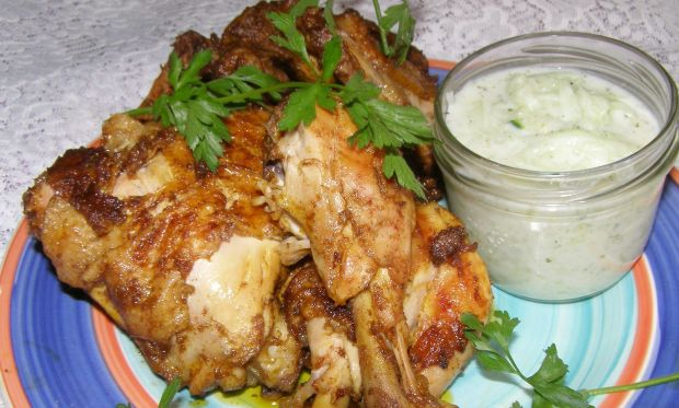 Kurczak z patelni grill