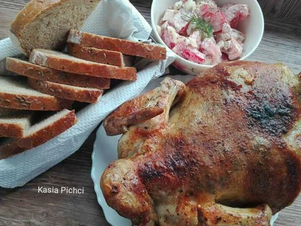 Kurczak z różna