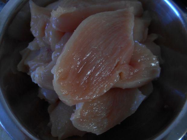 Kurczak z teriyaki i imbirem
