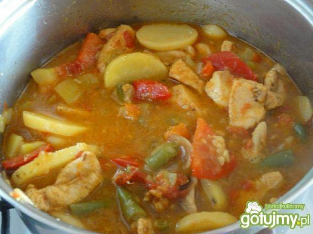 Kurczak z warzywami wg Ilona