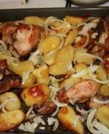 Kurczak z ziemniakami