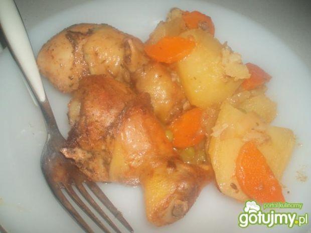 Kurczaka w warzywach
