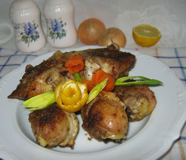 Kurczakowe nogi pieczone