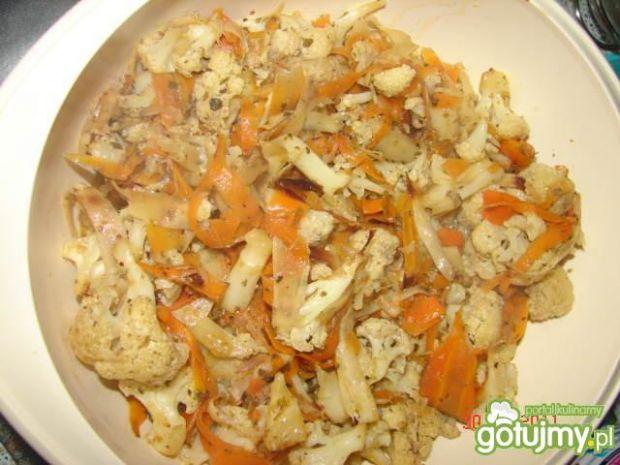 Kurcze pieczone z warzywami