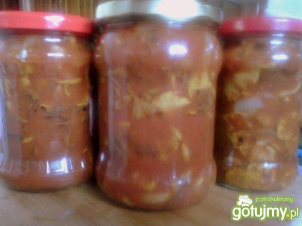 kurki marynowane w słodko-kwaśnym sosie