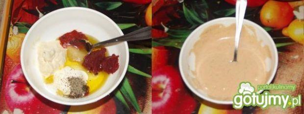 Kurpiowska sałatka śledziowa z jabłkiem