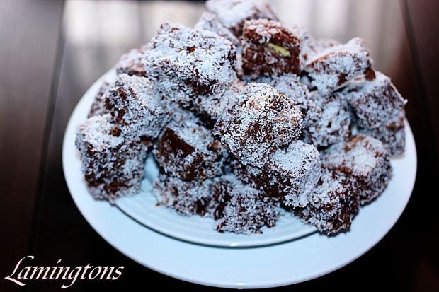 Lamingtons tradycyjny deser Australijski