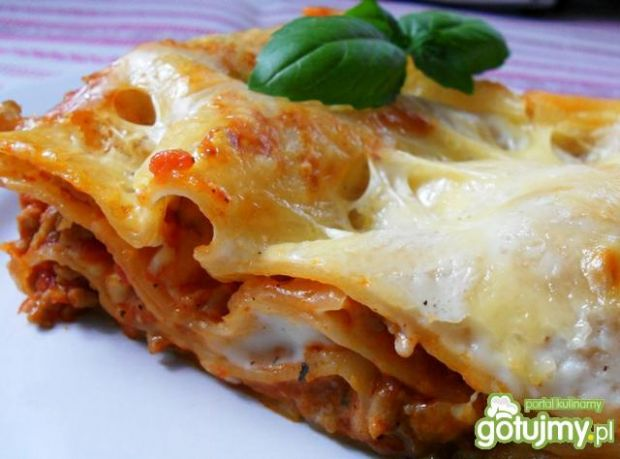 Lasagne bolognese wg edytaha