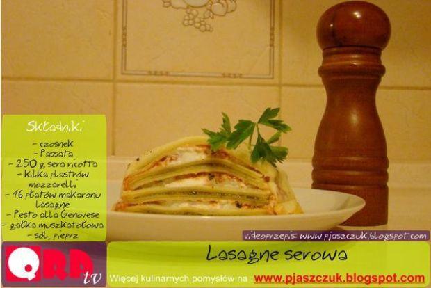 Lasagne serowa