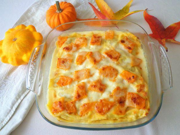 Lasagne Z Dynia I Pieczarkami