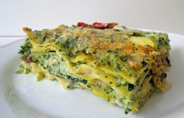 Lasagne z jarmużem i ricottą