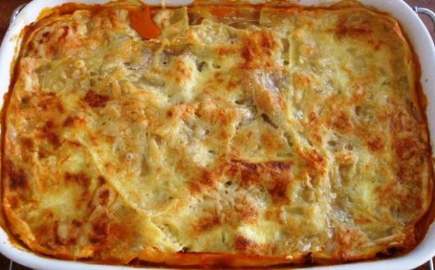Lasagne z soczewica