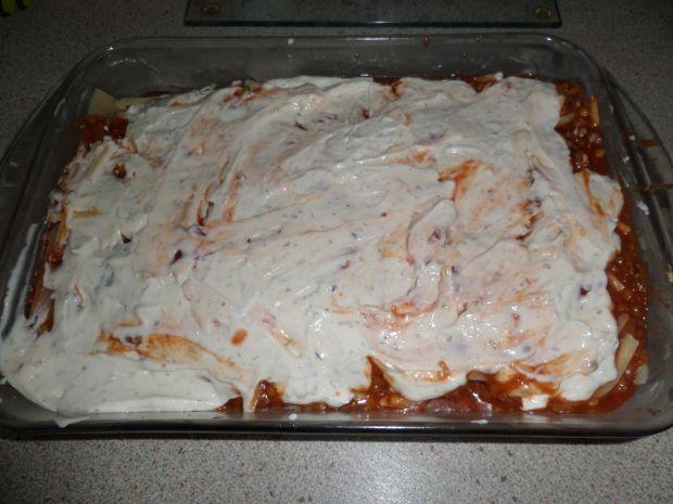 Lasagne z soczewicą