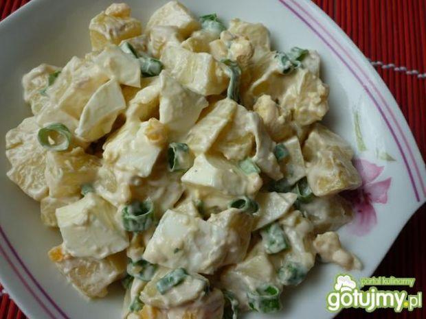 Łatwa ziemniaczana sałatka