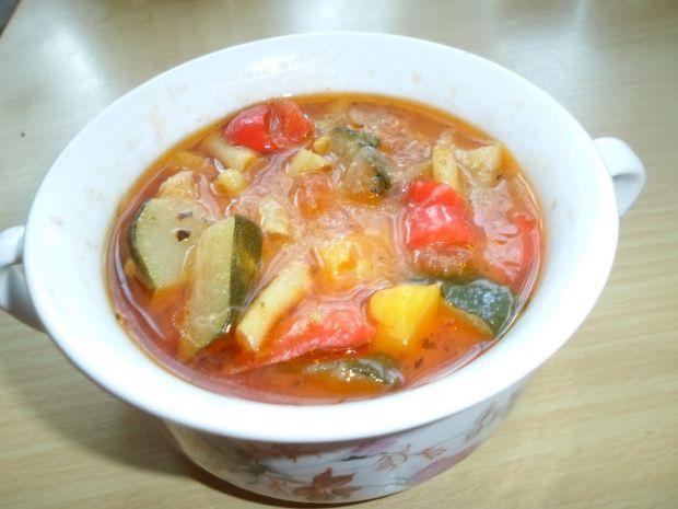 Pyszne leczo warzywne