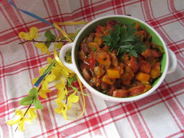Leczo warzywne z dynią