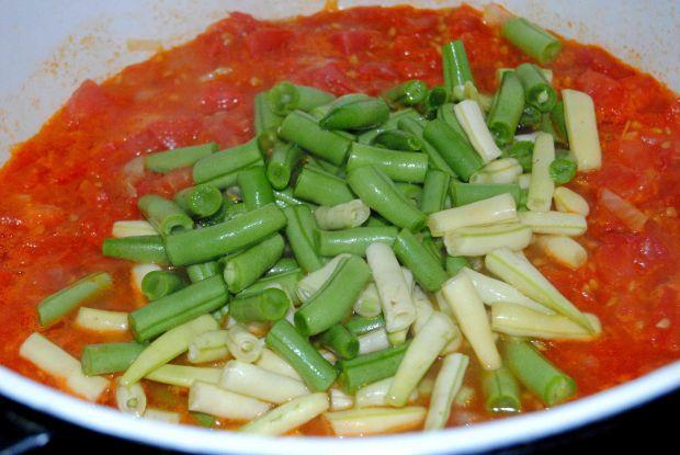 Leczo z fasolką szparagową i mięsem mielonym