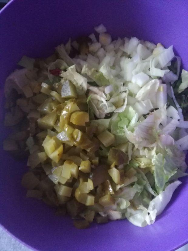 Lekka sałatka z kurczakiem