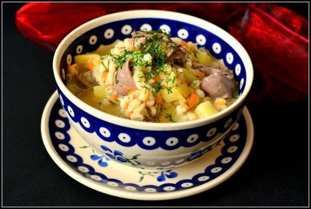 Lekka zupa z sercami