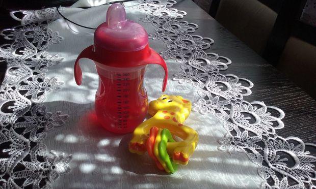 Lekki kompocik jabłkowo-borówkowy dla dziecka
