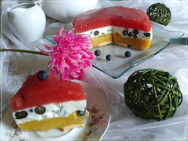 Lekki torcik owocowo-jogurtowy
