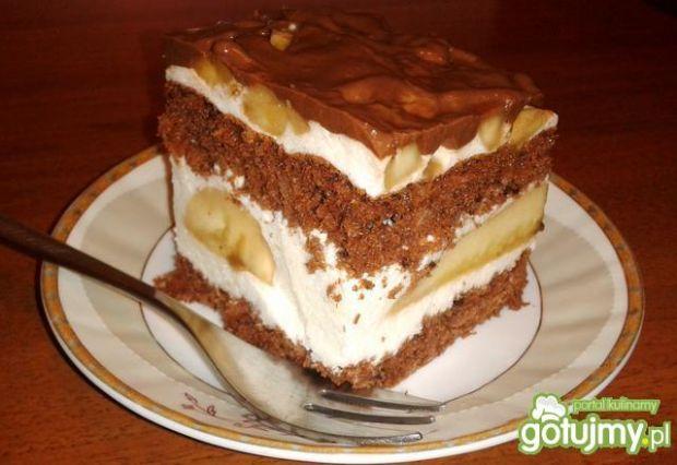 Lekkie ciasto z kremem jogurtowym