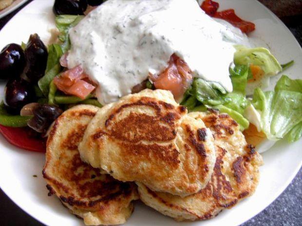 Lekkie racuchy z ricotta - do salaty