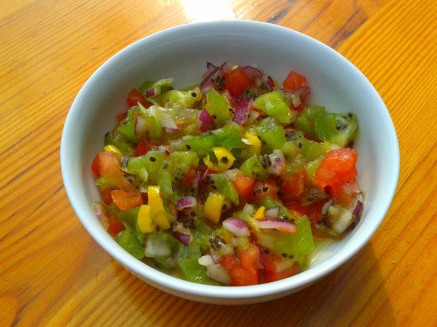 Lekko pikantna salsa z kiwi