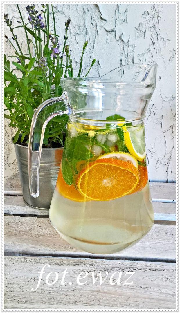Lemoniada mandarynkowo cytrynowa