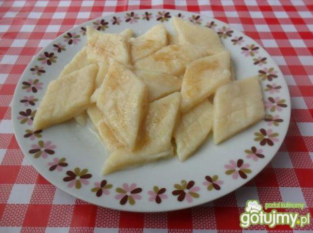 Leniwe pierogi z serem i ziemniakami
