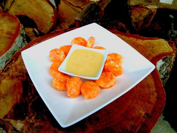 Leniwe z marchewką i sosem waniliowym