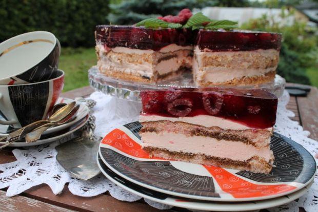 """Letni tort """"Malinka"""""""