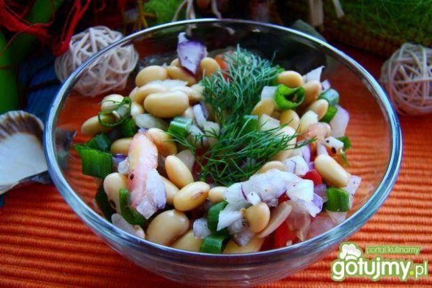 Letnia sałatka z soją