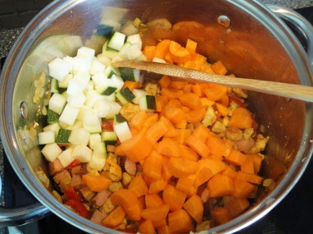 Letnie leczo warzywne