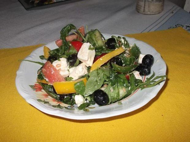 Letnie warzywa z serem