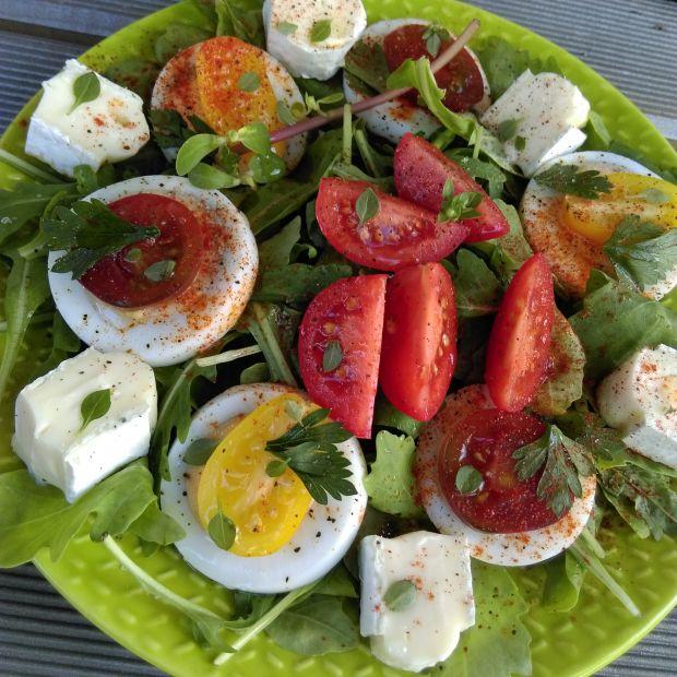Letnio-jesienne lekkie śniadanie