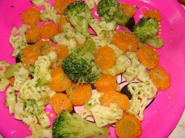 Literki z warzywami dla dzieci
