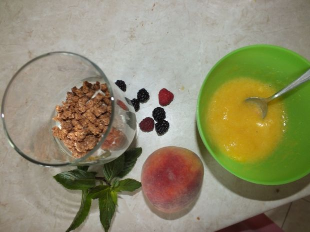 Lodowo - owocowa rozkosz z otrębami