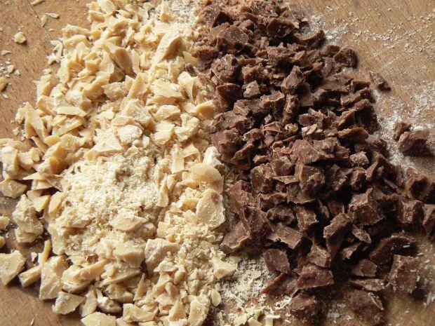 Lody bananowe z czekoladą