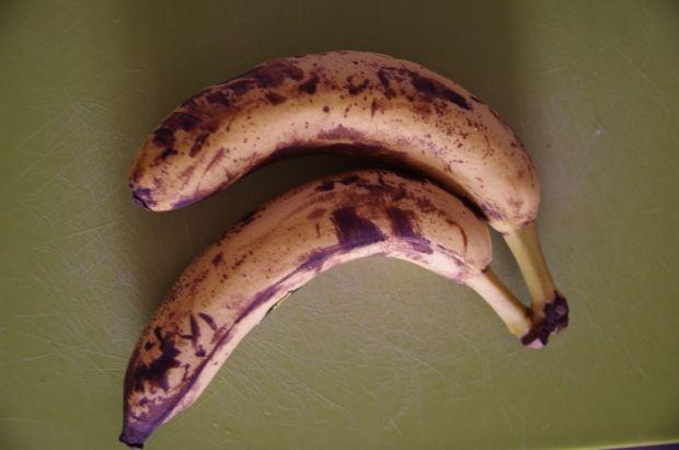 Lody bananowe z masłem orzechowym
