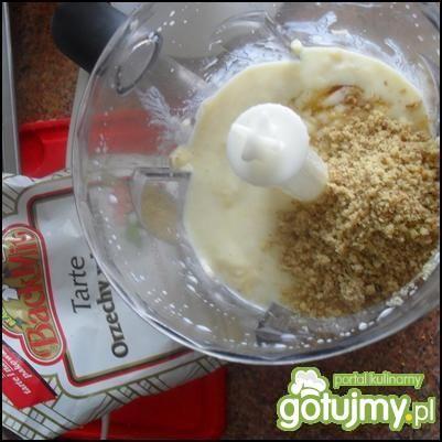 Lody bananowo-orzechowe- letni deser