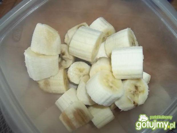 Lody bananowo-truskawkowe