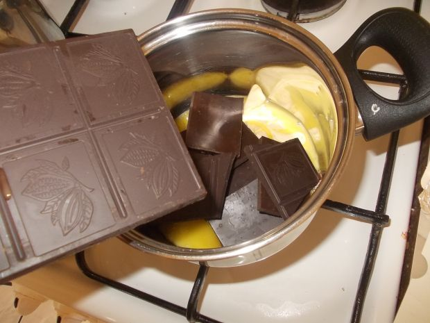 Lody czekoladowe z aquafaby