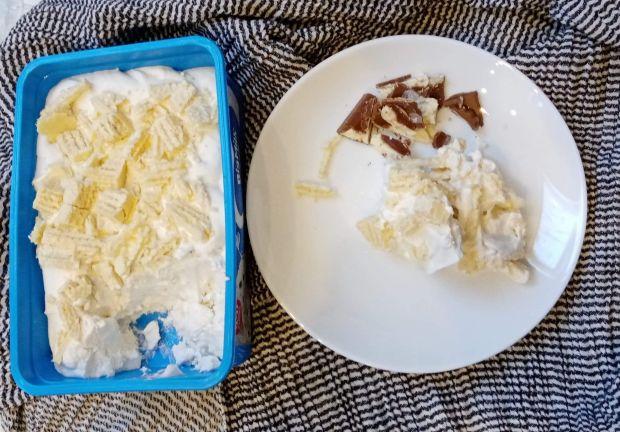 Lody na mleku kokosowym i mascarpone