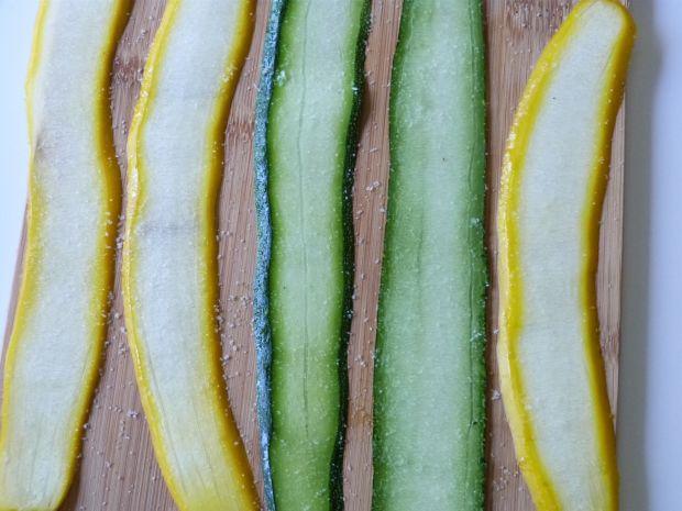 Łosoś grillowany w warzywach