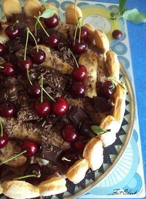 Luksusowy tort czekoladowy