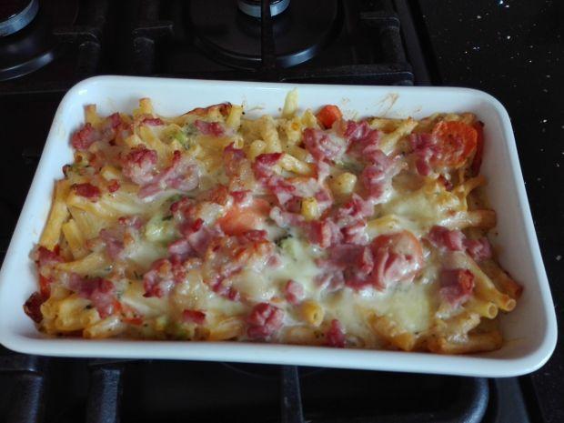 Macaroni cheese - mocno serowy makaron