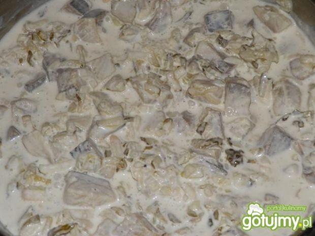 Majonezowo-śmietanowe filety śledziowe