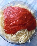 Makaron z sosem Fix Knorr Spaghetti